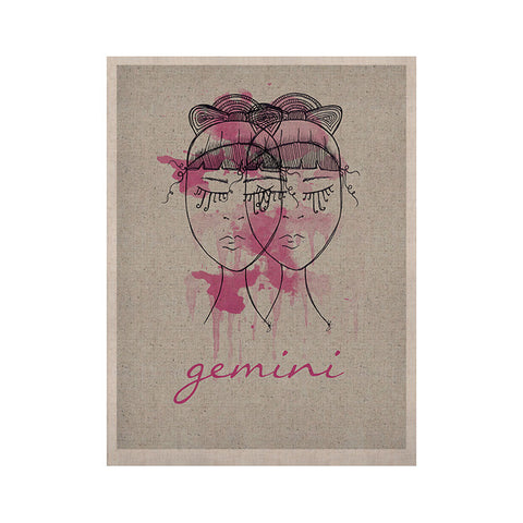 "Belinda Gillies ""Gemini"" KESS Naturals Canvas (Frame not Included) - KESS InHouse  - 1"