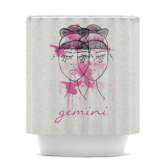 "Belinda Gillies ""Gemini"" Shower Curtain - KESS InHouse"