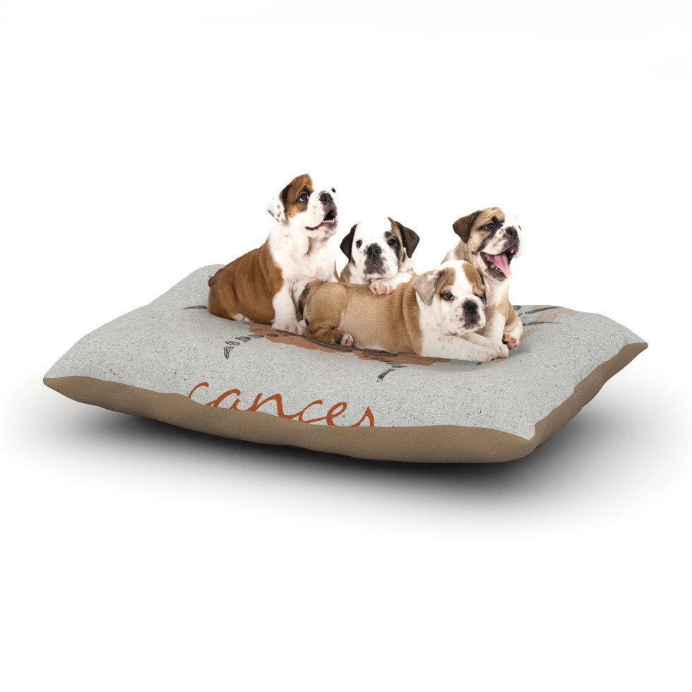 "Belinda Gillies ""Cancer"" Dog Bed - KESS InHouse  - 1"