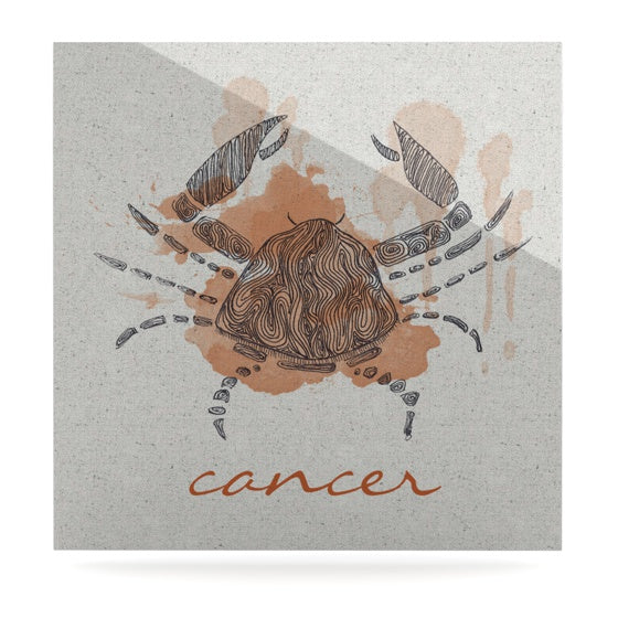 "Belinda Gillies ""Cancer"" Luxe Square Panel - KESS InHouse  - 1"