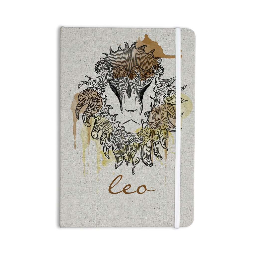 "Belinda Gillies ""Leo"" Everything Notebook - KESS InHouse  - 1"