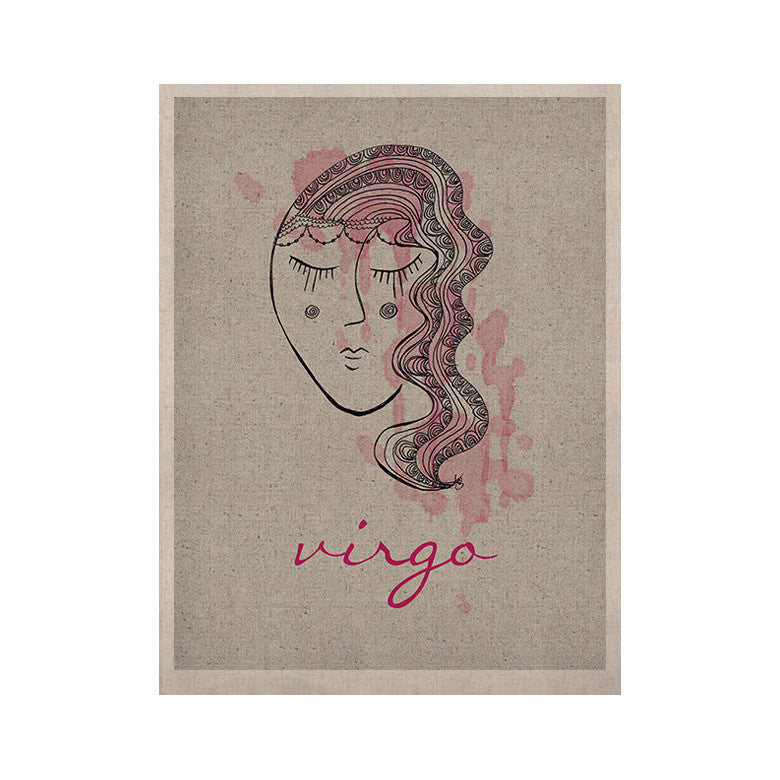 "Belinda Gillies ""Virgo"" KESS Naturals Canvas (Frame not Included) - KESS InHouse  - 1"