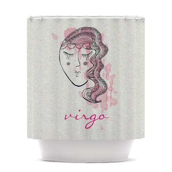 "Belinda Gillies ""Virgo"" Shower Curtain - KESS InHouse"
