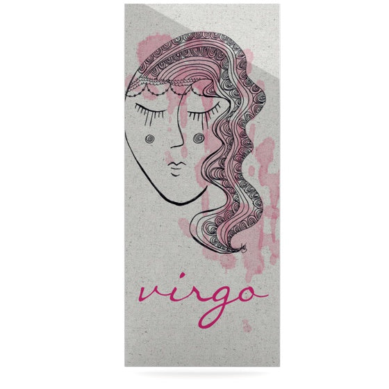 "Belinda Gillies ""Virgo"" Luxe Rectangle Panel - KESS InHouse  - 1"