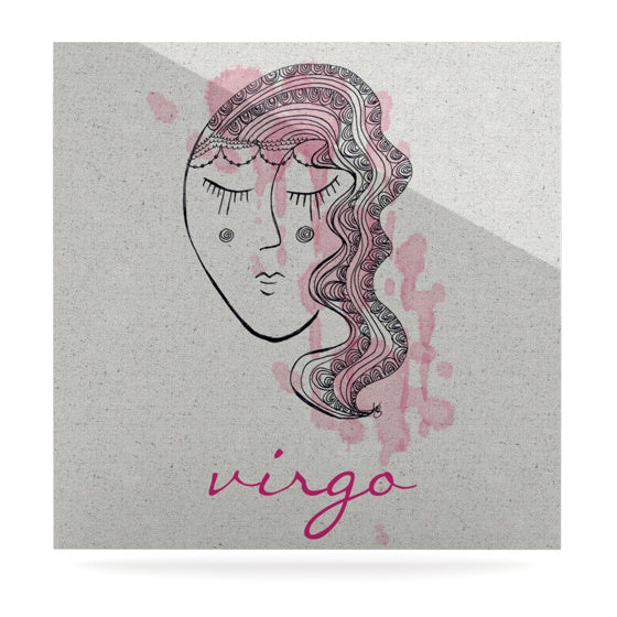 "Belinda Gillies ""Virgo"" Luxe Square Panel - KESS InHouse  - 1"