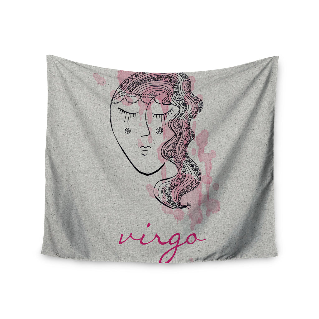 "Belinda Gillies ""Virgo"" Wall Tapestry - KESS InHouse  - 1"