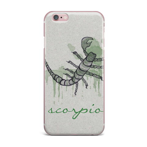 "Belinda Gillies ""Scorpio"" iPhone Case - KESS InHouse"