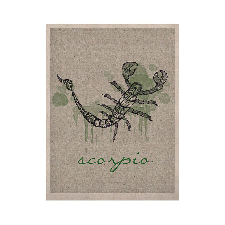 "Belinda Gillies ""Scorpio"" KESS Naturals Canvas (Frame not Included) - KESS InHouse  - 1"