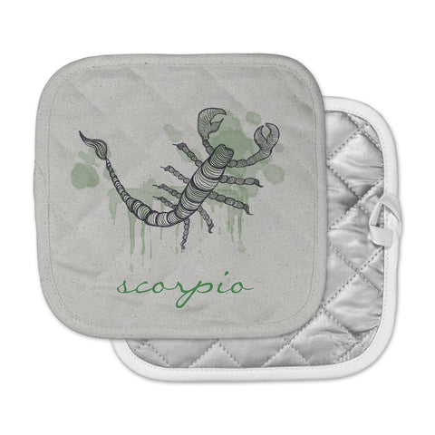 "Belinda Gillies ""Scorpio"" Pot Holder"