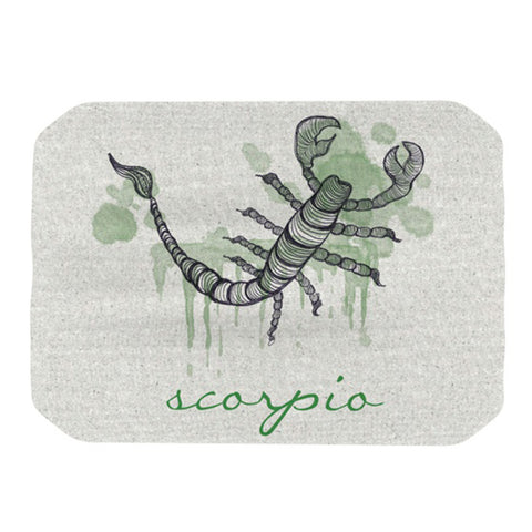 "Belinda Gillies ""Scorpio"" Place Mat - Outlet Item"