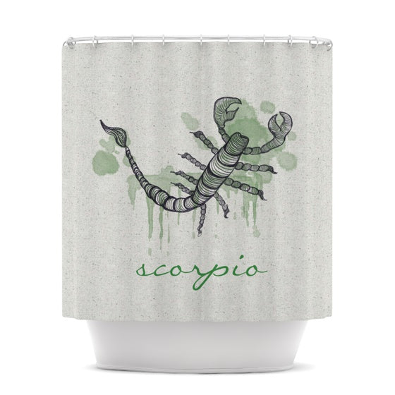 "Belinda Gillies ""Scorpio"" Shower Curtain - KESS InHouse"