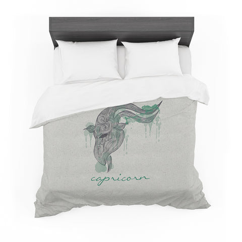 "Belinda Gillies ""Capricorn"" Featherweight Duvet Cover"