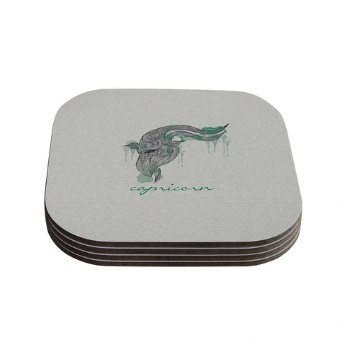 "Belinda Gillies ""Capricorn"" Coasters (Set of 4)"