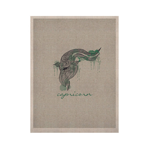 "Belinda Gillies ""Capricorn"" KESS Naturals Canvas (Frame not Included) - KESS InHouse  - 1"