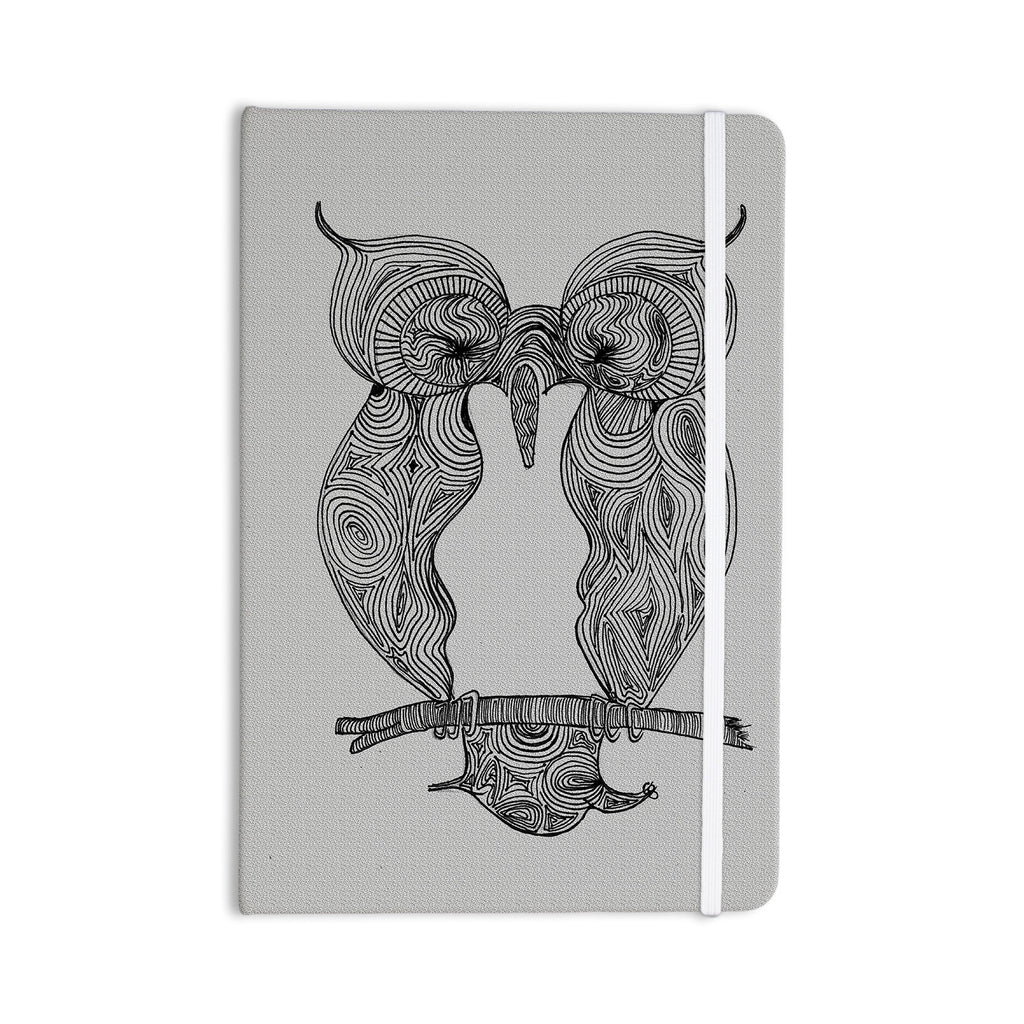 "Belinda Gillies ""Owl"" Everything Notebook - KESS InHouse  - 1"