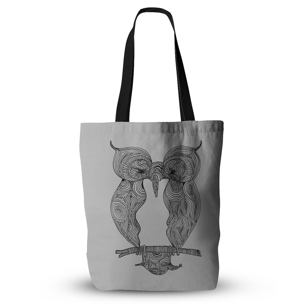 "Belinda Gillies ""Owl"" Everything Tote Bag - KESS InHouse  - 1"