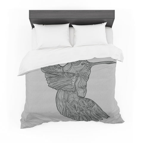 "Belinda Gillies ""Hummingbird"" Featherweight Duvet Cover"