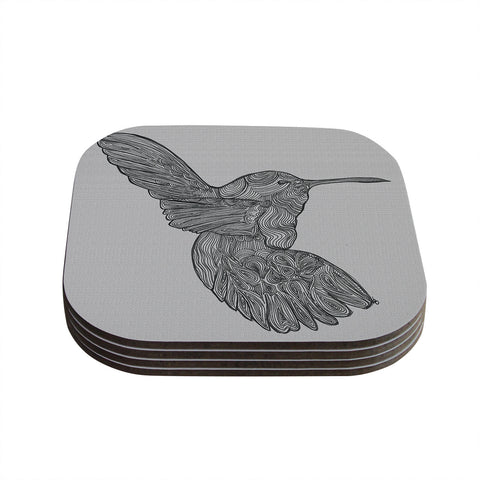 "Belinda Gillies ""Hummingbird"" Coasters (Set of 4)"