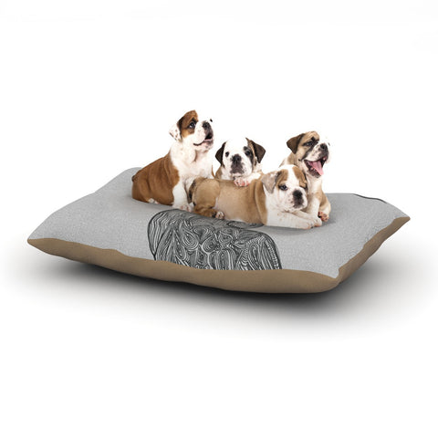 "Belinda Gillies ""Hummingbird"" Dog Bed - KESS InHouse  - 1"
