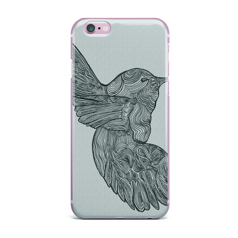 "Belinda Gillies ""Hummingbird"" iPhone Case - KESS InHouse"