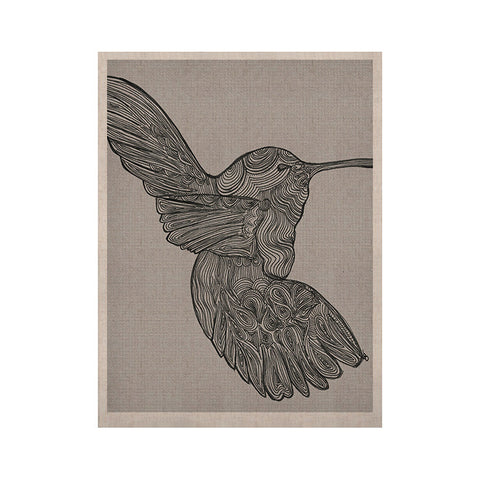 "Belinda Gillies ""Hummingbird"" KESS Naturals Canvas (Frame not Included) - KESS InHouse  - 1"