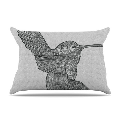 "Belinda Gillies ""Hummingbird"" Pillow Sham - KESS InHouse"