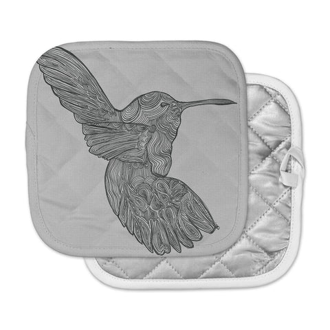 "Belinda Gillies ""Hummingbird"" Pot Holder"
