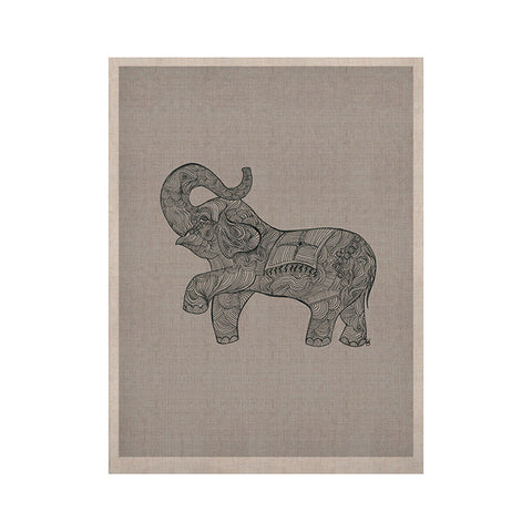 "Belinda Gillies ""Elephant"" KESS Naturals Canvas (Frame not Included) - KESS InHouse  - 1"