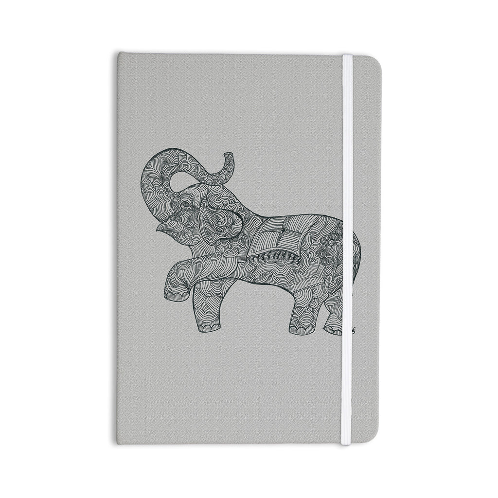 "Belinda Gillies ""Elephant"" Everything Notebook - KESS InHouse  - 1"
