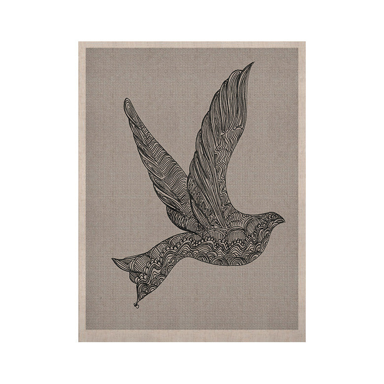 "Belinda Gillies ""Dove"" KESS Naturals Canvas (Frame not Included) - KESS InHouse  - 1"