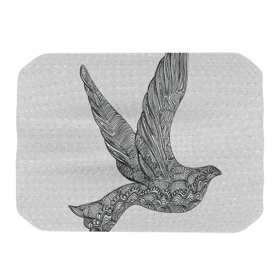 "Belinda Gillies ""Dove"" Place Mat - KESS InHouse"