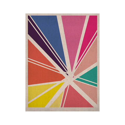 "Belinda Gillies ""Boldly Bright"" KESS Naturals Canvas (Frame not Included) - KESS InHouse"