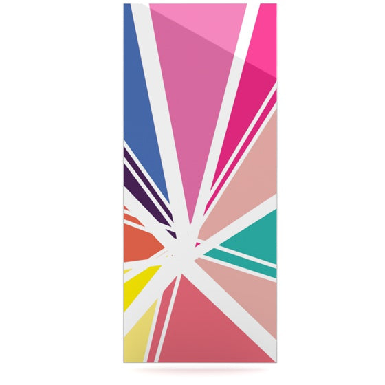 "Belinda Gillies ""Boldly Bright"" Luxe Rectangle Panel - KESS InHouse"