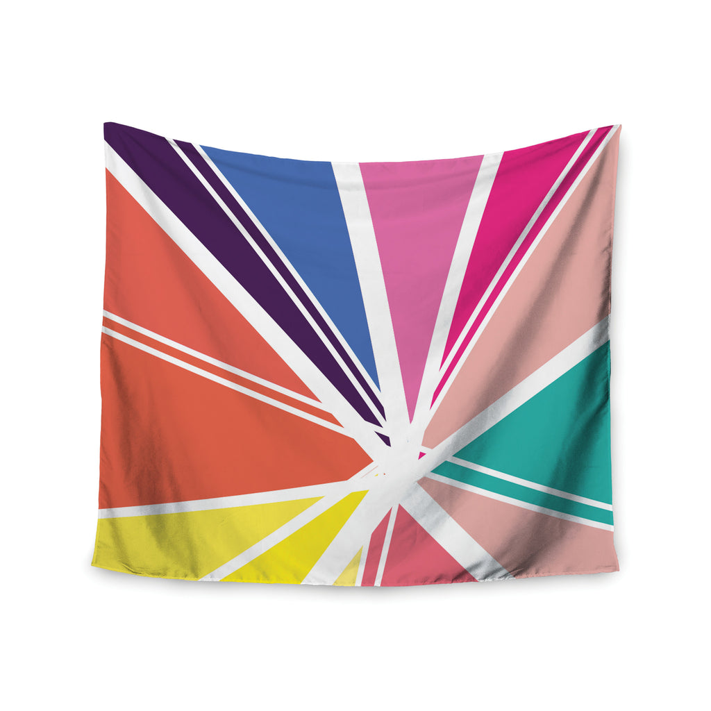 "Belinda Gillies ""Boldly Bright"" Wall Tapestry - KESS InHouse  - 1"