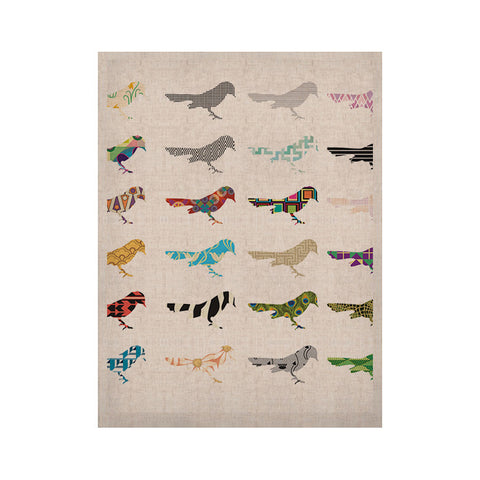 "Belinda Gillies ""Birds"" KESS Naturals Canvas (Frame not Included) - KESS InHouse  - 1"