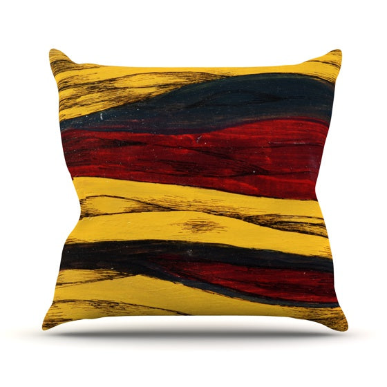 "Brittany Guarino ""Sheets"" Throw Pillow - KESS InHouse  - 1"