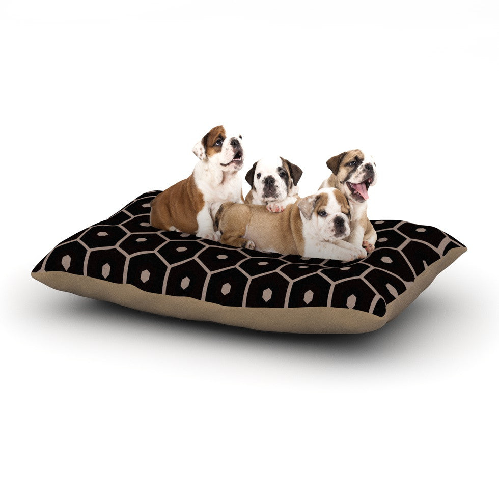 "Budi Kwan ""Tiled Mono"" Dog Bed - KESS InHouse"