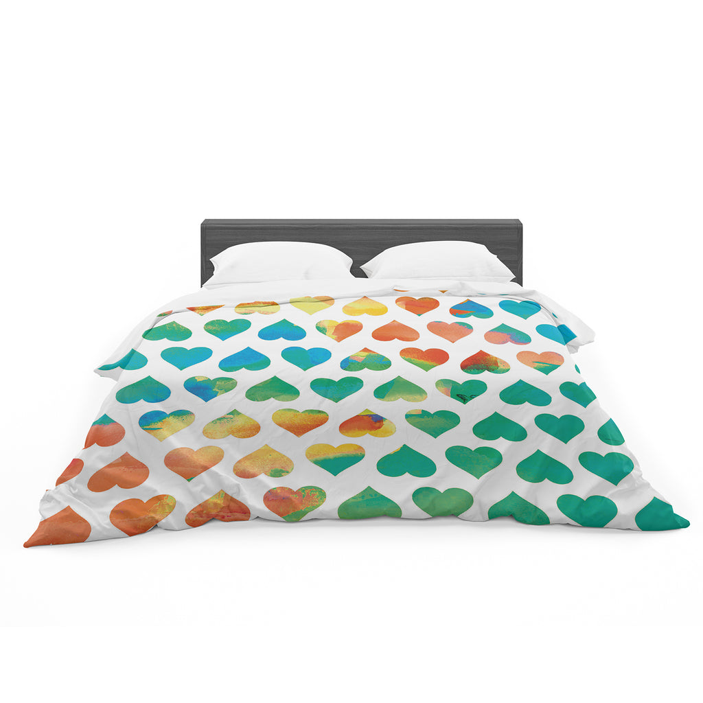 "Budi Kwan ""Be Mine"" Featherweight Duvet Cover"