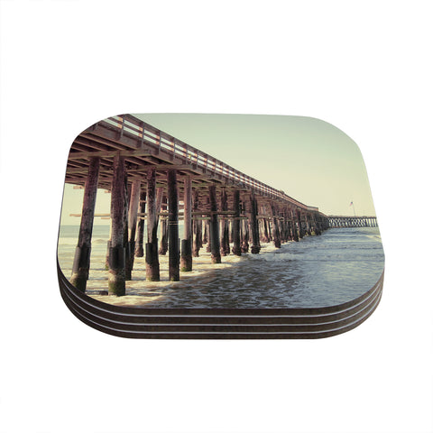 "Bree Madden ""Ventura Pier""  Coasters (Set of 4) - Outlet Item"