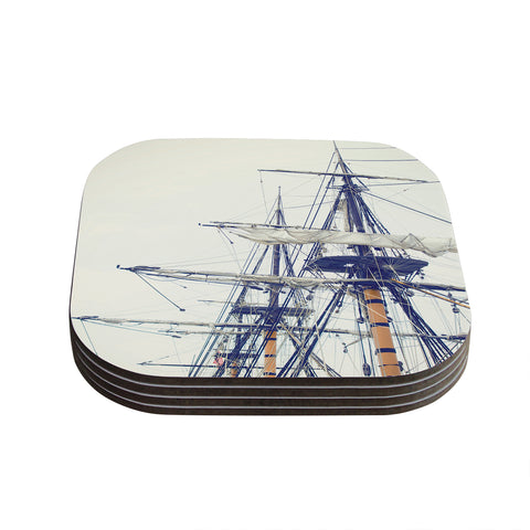"Bree Madden ""Pirate Ship""  Coasters (Set of 4) - Outlet Item"