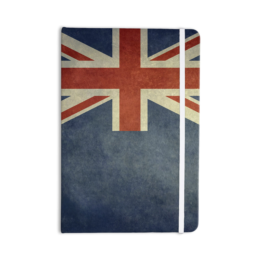 "Bruce Stanfield ""Flag of New Zealand"" Blue Everything Notebook - KESS InHouse  - 1"