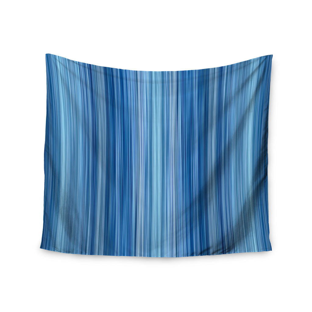 "Bruce Stanfield ""Ambient #1"" Teal Digital Wall Tapestry - KESS InHouse  - 1"