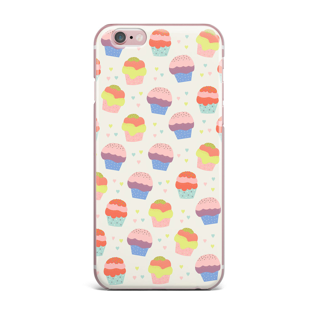 "Cristina bianco Design ""Cupcakes"" Yellow Food iPhone Case - KESS InHouse"