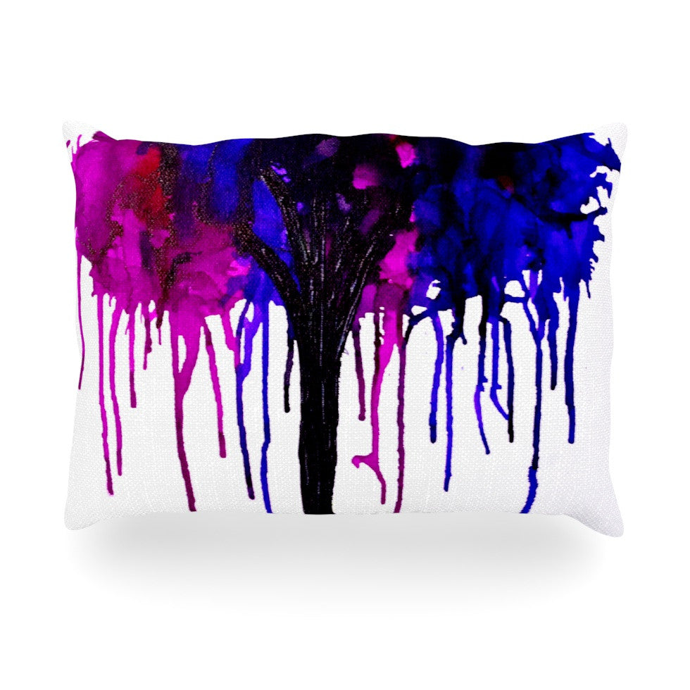 "Claire Day ""Weeping Willow"" Oblong Pillow - KESS InHouse"