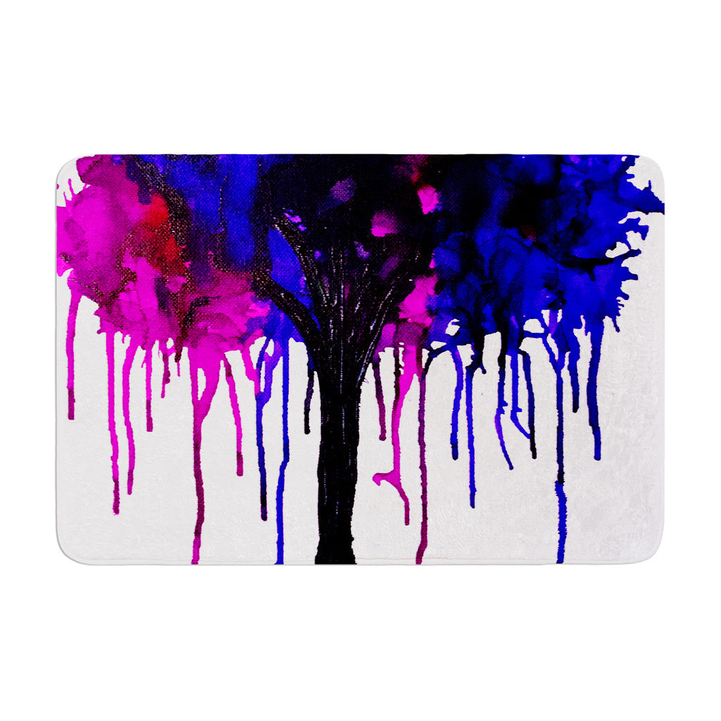 "Claire Day ""Weeping Willow"" Memory Foam Bath Mat - KESS InHouse"