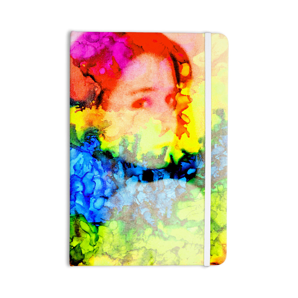 "Claire Day ""Clairefied"" Rainbow Paint Everything Notebook - KESS InHouse  - 1"