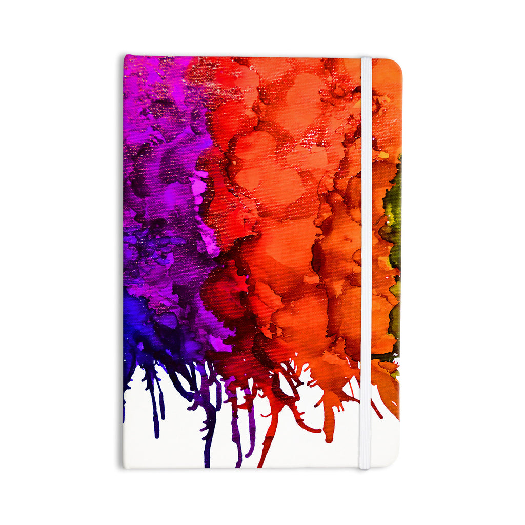 "Claire Day ""Rainbow Splatter"" Everything Notebook - KESS InHouse  - 1"