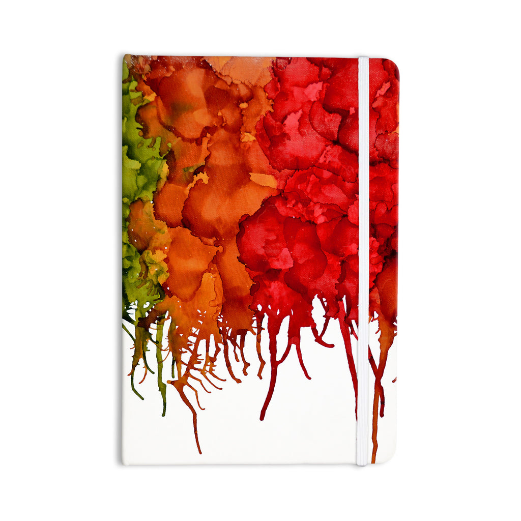 "Claire Day ""Fall Splatter"" Everything Notebook - KESS InHouse  - 1"