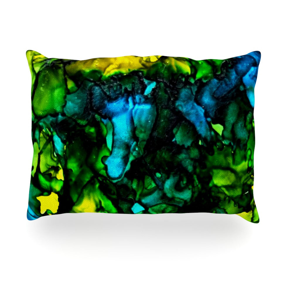 "Claire Day ""Ariel"" Oblong Pillow - KESS InHouse"