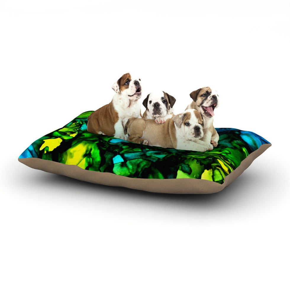 "Claire Day ""Ariel"" Dog Bed - KESS InHouse  - 1"